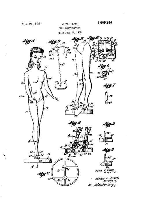 Barbie Patent