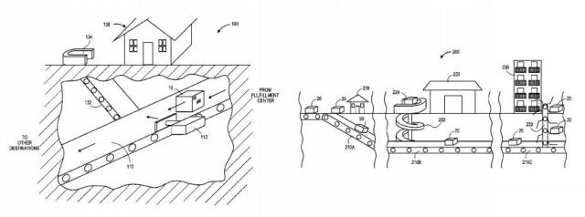 amazon-patent-tunnel-delivery-system-1